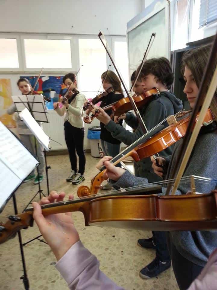 Alunni Istituto Comprensivo Rapallo musica 2