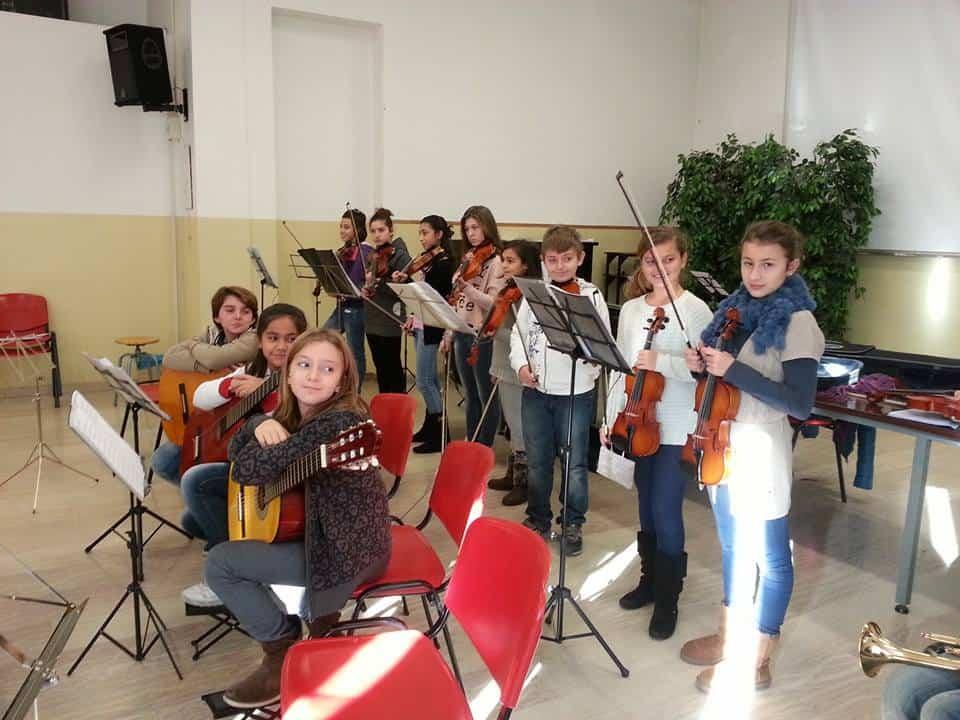 Alunni Istituto Comprensivo Rapallo musica